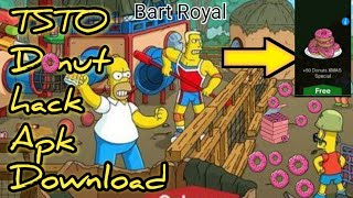 The Simpsons Tapped Out Hack Apk 4.31.0 (Unlimited Donuts)