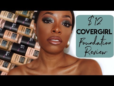 COVERGIRL TRU BLEND MATTE MADE FOUNDATION REVIEW & FULL FACE TUTORIAL | KYRA KNOX
