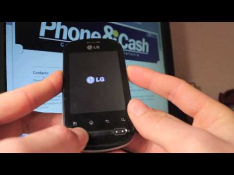 LG Optimus Me P350 - Resetear | Reestablecer | Hard Reset | Recovery Mode - Phone&Cash