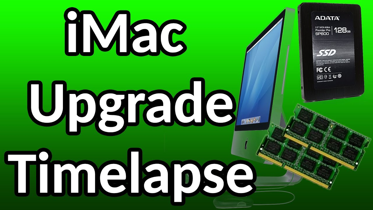 imac mid 2007 memory upgrade 8gb