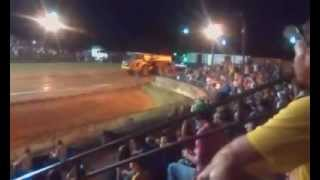 Volvo Dumptruck pulling at frederick county fair va