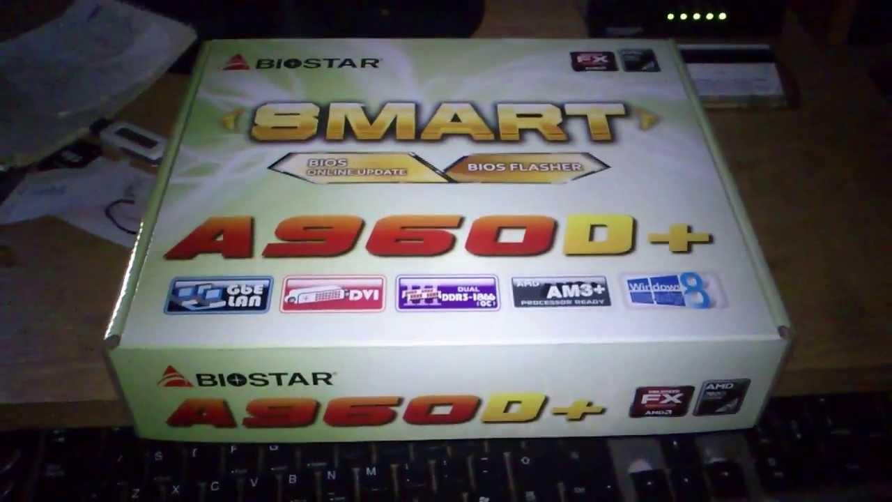 Biostar A960D+ Windows 8 X64
