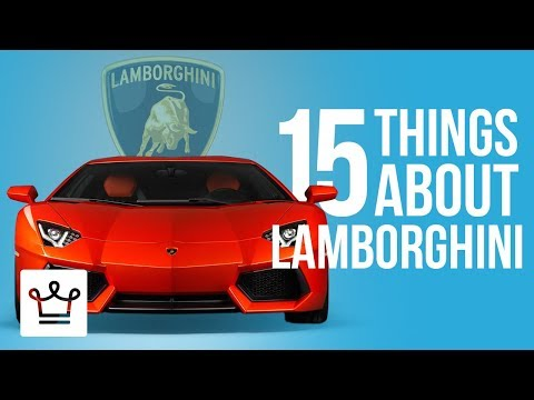 15 Things You Didn t Know About LAMBORGHINI