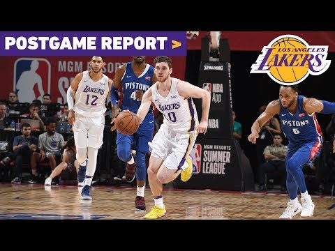 Postgame Report: Wiretowire win puts Lakers in Summer League semifinals