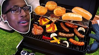BARBECUING FOR THE FAMILY (HILARIOUS)
