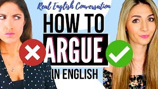 How to Argue in English! 28 Common English Expressions #learnenglish #lingoda