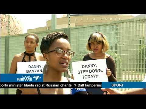Pressure mounts for SAFA president Danny Jordaan to step down