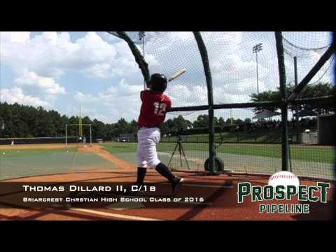 Thomas Dillard II, C, 1b, Briarcrest Christian High School, Swing Mechanics at 200 fps