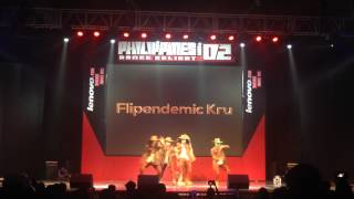 Flipendemic Kru @ Philippine Dance Delight Vol. 2