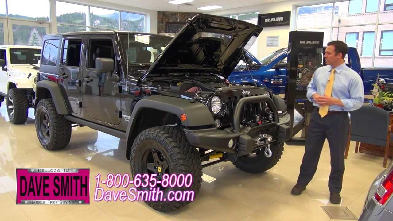 Jeep Wrangler Hemi >> Custom 2014 Jeep Wrangler Unlimited Rubicon With A 6 4l Hemi At Dave Smith Motors