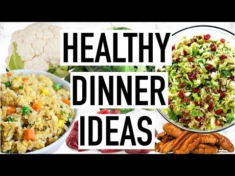 HEALTHY DINNER IDEAS! Easy And Quick Dinner Recipes! Cooking With Liv Ep. 5