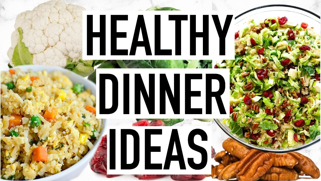 HEALTHY DINNER IDEAS Easy And Quick Dinner Recipes Cooking With Liv Ep 5