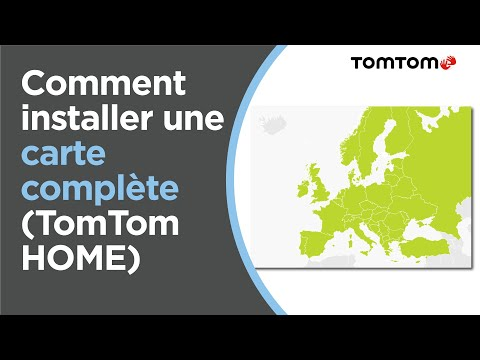 Carte Western Europe Tomtom One Xl Gratuite.Comment Installer Une Carte Complete A L Aide De Tomtom Home