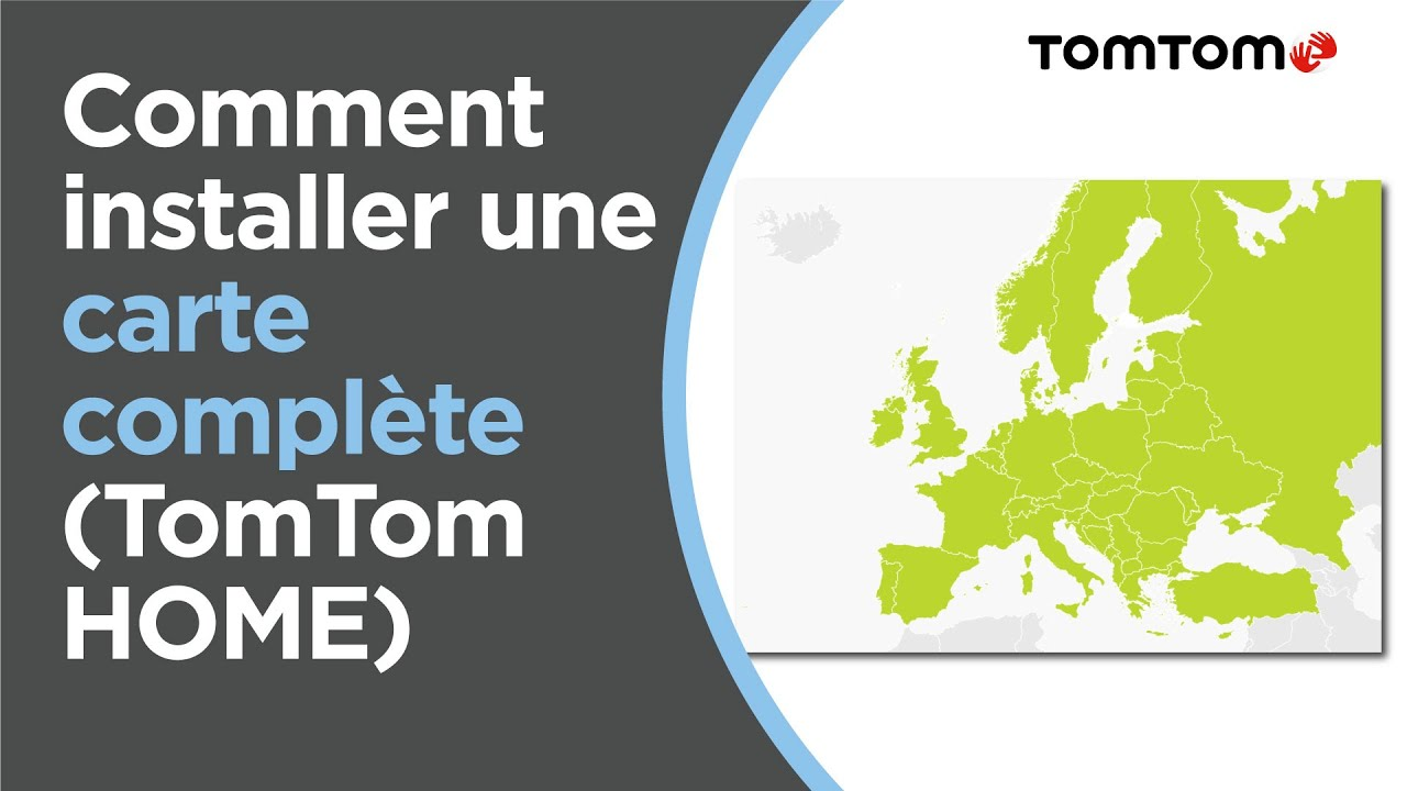 installer carte tomtom manuellement Comment installer une carte complète à l'aide de TomTom HOME   YouTube