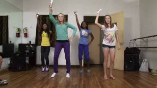 """Kids in America""  Just Dance game for Wii"