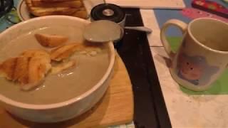 Грибной крем суп. Рецепт. Быстро и просто.