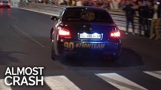 BMW M5 E60 - LOUD V10 Sound & ALMOST CRASH!