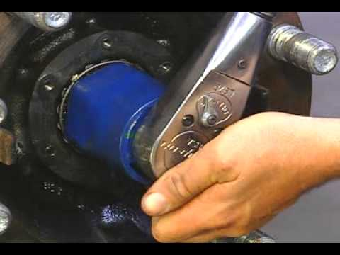 How To Adjust A Wheel Bearing On A Front Non Drive Axle