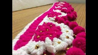 Woollen Craft Idea | Door Toran Making With Wool| *EASY & SIMPLE*