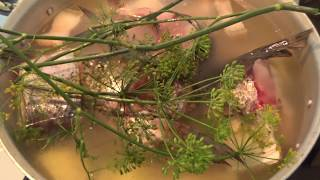 #уха#рыба#рецепт Рецепт  ухи.Как приготовить рыбный суп. Самая вкусная рыбная похлебка.
