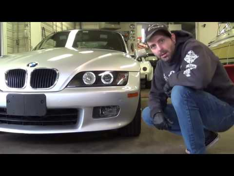 BMW Z3 FOG LIGHT REPAIR -  EASY AT HOME Z3 FOGLIGHT FIX - DO IT YOURSELF SAVE $$