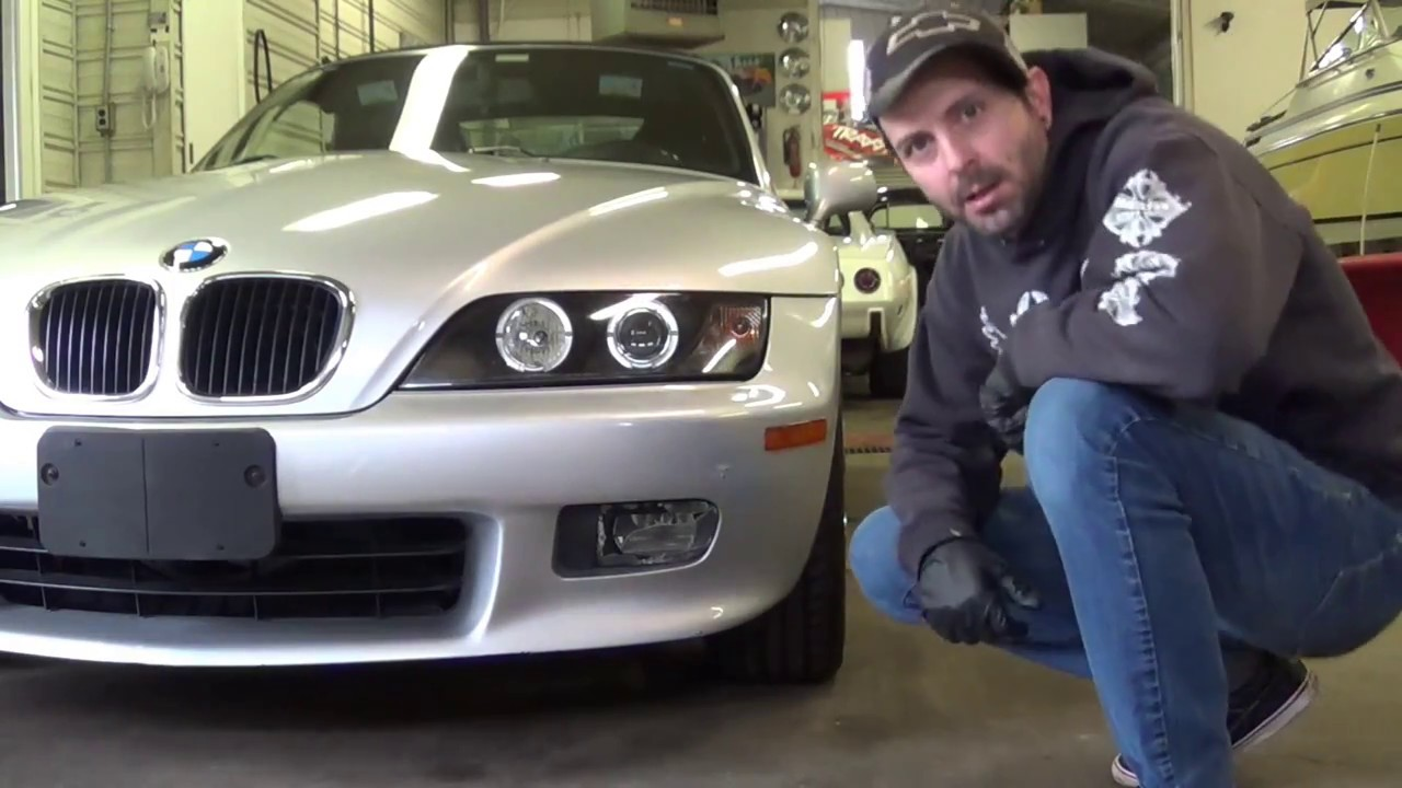 Bmw Z3 Fog Light Repair Easy At Home Z3 Foglight Fix