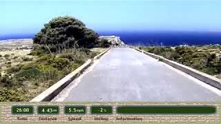 Motivating Treadmill Run & Jog Video - New Blue Mediterranean Deep Blue Vistas Part II