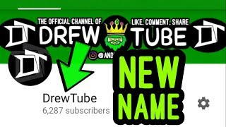 I CHANGED THE NAME OF THE CHANNEL AGAIN?! (Explained)