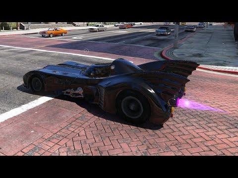 GTA 5 Mods Batmobile Cars