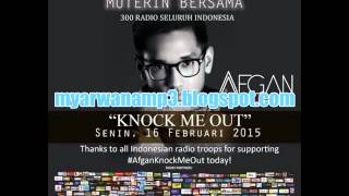 Afgan - Knock Me Out