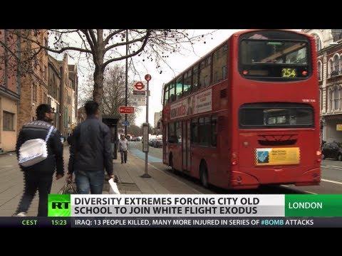 White Flight: Diversity extremes push Londoners' exodus