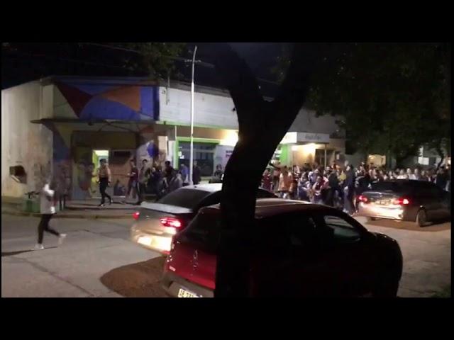 #Alerta Descontrol en Chajarí, Entre Ríos por el día del estudiante