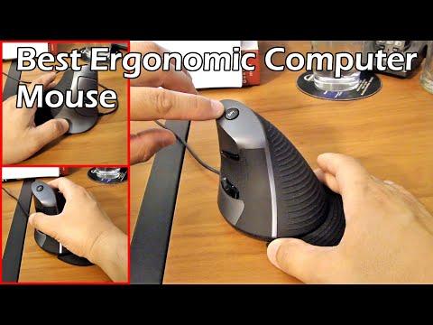 Ergonomic Mouse to Decrease Strain on Your Arm