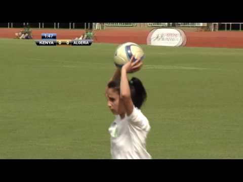 Harambee Starlets Vs Algeria (full match)