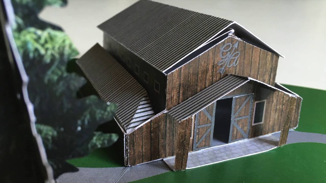 Greene Acres Barn Pop Up Youtube