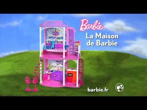 la maison de barbie youtube. Black Bedroom Furniture Sets. Home Design Ideas