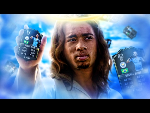 OMG THE GLITCHED OTW GABRIEL JESUS! THE MANCHESTER CITY WONDERKIND SQUAD! FIFA 17 ULTIMATE TEAM