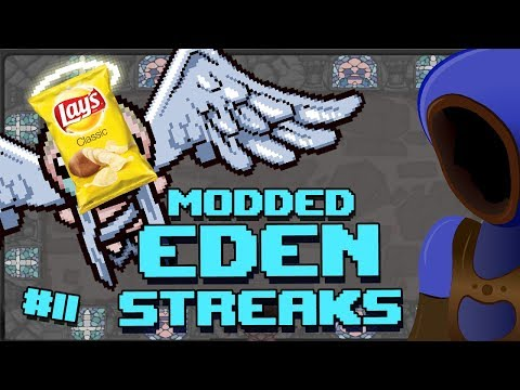 Let's ignore Isaac and talk about snacks :: Modded Isaac: Eden Streaking :: 11