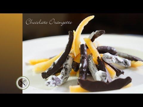 Chocolate Orangette / Candied Orange Peels – Bruno Albouze – The Real Deal