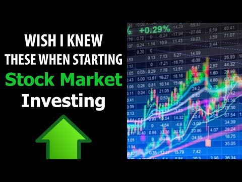 What I Wish I Knew When Starting To Invest In Stocks (Beginner Advice)