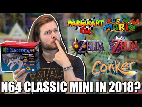 N64 Classic Edition: Will Nintendo Make It & Games It Will Have!