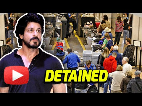 Shah Rukh Khan Detained By US Immigration Again