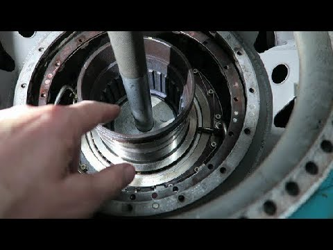 Working on a Turbojet: 10 - Thrust Bearing Seals