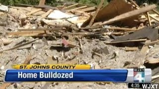 Woman Has Home Bulldozed Because She
