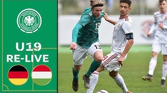 Deutschland - Ungarn 3:0 | Volle Länge | U19 EM-Qualifikation | Eliterunde