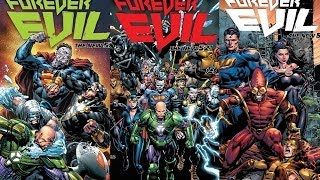 Forever Evil #1,2,3 Review/Recap Trinity War Aftermath -Comic Island