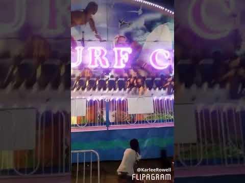 Surf city!! #fair #carnival #rides #fun #familyfirst #rollercoasters