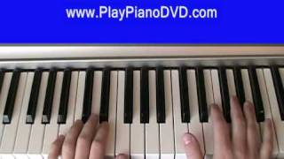How to play Because of you by Neyo on the Piano