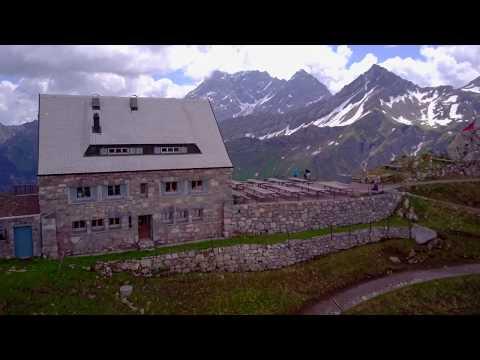 Liechtenstein Mountain Hut Pfälzerhütte