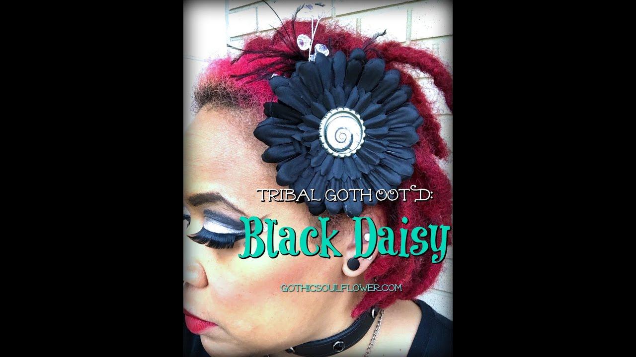 Ootd black daisy aprils birth flower 2016 youtube ootd black daisy aprils birth flower 2016 izmirmasajfo